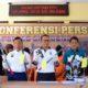 PELAKU DAN BARBUK: Konferensi Pers Polres Situbondo ungkap kasus komplotan pelaku pembobolan toko.(im)