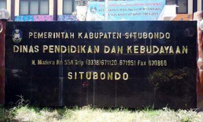 Kantor Dispendikbud Kabupaten Situbondo Jawa Timur. (Her)