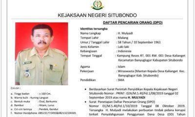 Mantan Kades Kalianget jadi Buronan Jaksa Situbondo, Kasus Penyelewengan DD 2018