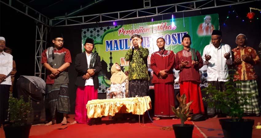 Pawai Obor Meriahkan Maulid Nabi di Dusun Cangkreng, Desa Kotakan Kecamatan Situbondo kota