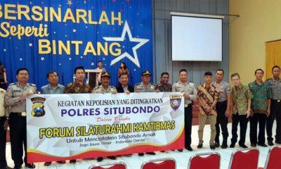 Program Forum Silaturahmi Kamtibmas Polres Situbondo Ajak Masyarakat Antar Umat Beragama Jaga Kerukunan