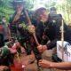 TANAM POHON: Bupati Situbondo H Dadang Wigiarto SH saat meninjau Program TMMD ke 107. (im)