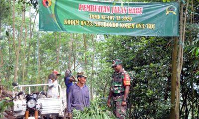 Tossa Jadi Pahlawan di Pra TMMD ke 107