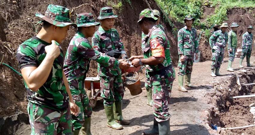 Kopka Zakaria Kowi Jadi Contoh Prajurit TNI Muda Mengabdi untuk NKRI