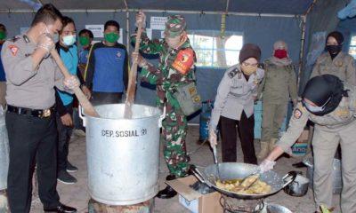 Peduli Dampak Covid-19, Gugus Tugas Kabupaten Situbondo Dirikan Dapur Umum