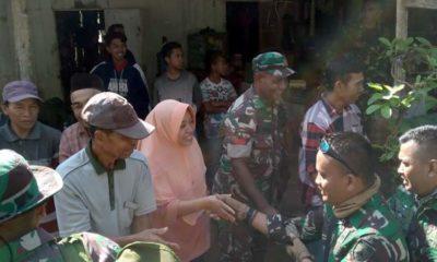 Satgas TMMD ke-107 Tinggalkan Desa Tlogosari, Kembali ke Yonif 527 BY Lumajang.