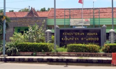 Satu Staf Positif Corona Sepulang Pelatihan Haji di Surabaya, Kantor Kemenag Situbondo Ditutup Selama 14 Hari
