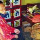 BANTU WARGA MISKIN PAKAI UANG PRIBADI : Wakil Bupati Situbondo Ir H Yoyok Mulyadi M Si saat sambangi nenek Sitimah sebelum rumahnya di rehab. (im)