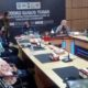Bupati Situbondo H Dadang Wigiarto SH menerima kunjungan kerja Komisi E DPRD Provinsi Jawa Timur. (Heri)