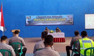 Latihan Pra Operasi Semeru 2020. (her/im)