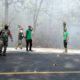 8 Ha Hutan Jati di Taman Nasional Baluran Terbakar
