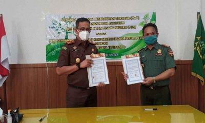 Perhutani Tandatangani MoU Bidang Hukum dengan Kejaksaan Negeri Situbondo