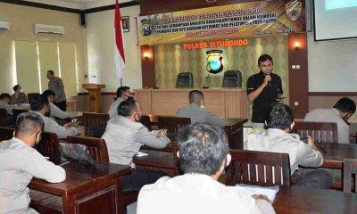 Bhabinkamtibmas Polres Situbondo Dilatih Medsos Sebagai Sarana Edukasi Masyarakat